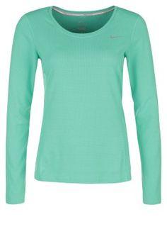 T-shirt - långärmad - emerald glow/reflective silver