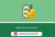 Cover image for Make Money Online board
