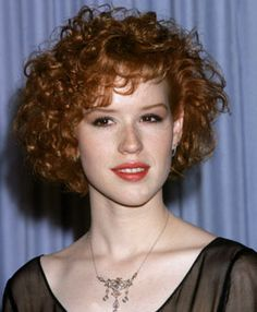 Molly Ringwald - I took this picture to the hair salon when I was in 6th grade.  I was in a stage between straight and curly and it didn't work...  It does now though!