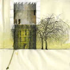 Beniamino Servino. Yellow Tower.