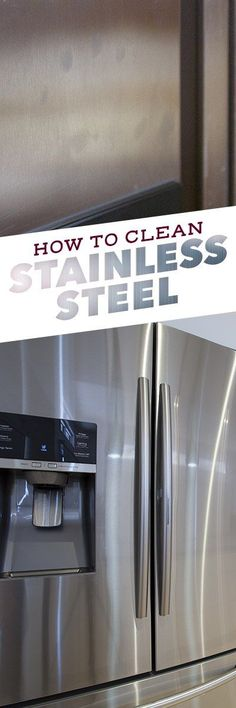 Stainless steel is hardly ever stainless, especially if you have little ones running around the house.  As sleek as they may look, stainless steel appliances lose their  alluring shine when they're covered with sticky fingerprints, smudges,  water spots and streaks. When considering how to clean stainless steel appliances like stoves, dishwashers or refrigerators, knowing what NOT to do is just as valuable  as knowing what to do.