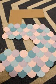 diy birthday decorations This Lovely Life: EASY DI - diybirthday Mermaid Theme Birthday, Little Mermaid Birthday, Little Mermaid Parties, Princess Birthday, Mermaid Party Decorations, Diy Birthday Decorations, 4th Birthday Parties, Birthday Diy, Birthday Ideas