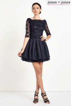 716baf5d Buy Jones + Jones Lace Top Skater Dress from the Next UK online shop