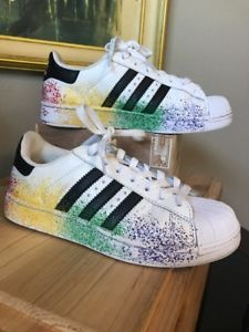 adidas superstar rainbow ebay