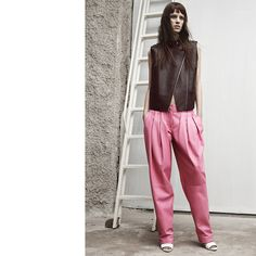 The Top Trends of the Resort 2014 Collections. baggy towsers by Alexander Wang