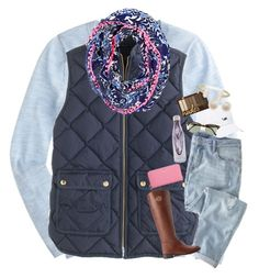 """One of the last Winter sets!! Summer here we come!"" by haileymartin12 ❤ liked on Polyvore featuring J.Crew, Lilly Pulitzer, Tory Burch, Vineyard Vines, Ray-Ban, S'well, Links of London and Kate Spade"