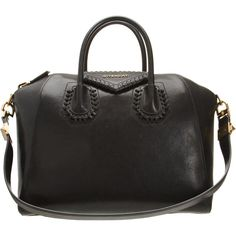 Givenchy Laced Animation Medium Antigona Duffel ($2,570) ❤ liked on Polyvore