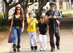 Slash and his cool family