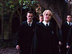Saga Harry Potter, Harry Potter Draco Malfoy, Harry Potter Characters, Severus Snape, Hermione Granger, Slytherin, Hogwarts, Tom Felton Emma Watson, Draco Malfoy Aesthetic