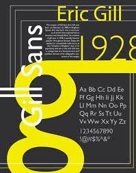 Gill Sans Sans-serif Humanist 1930 Eric Gill Poster by Tori Estes Poster Design Layout, Typo Design, Event Poster Design, Typography Poster Design, Typography Inspiration, Typography Fonts, Graphic Design Inspiration, Event Posters, Poster Designs