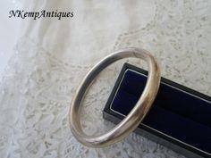 Real silver bracelet by Nkempantiques on Etsy