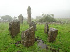 Ireland: Co. Cork. Kealkil Stone Circle northeast of Bantry in western Co. Cork.