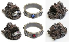 """Howl's Moving Castle"" Goods amulet ring"