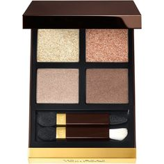 Tom Ford Eye Color Quad featuring polyvore, beauty products, makeup, eye makeup, eyeshadow, golden mink, tom ford eyeshadow, tom ford, tom ford eye shadow and tom ford eye makeup