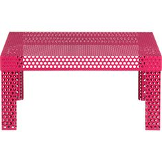 rouge coffee table in accent tables | CB2