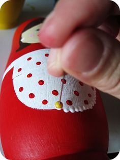 handpainted matryoshka dolls