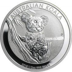 Australia 1 Dollar 2008 Koala 1oz .999 Silver Coin Original Perth Mint Packaging
