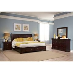 Costco: Avalon 5-piece Cal King Storage Bedroom Set