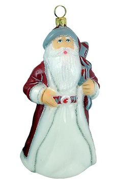 Joy to the World Collectibles 'Collegiate Varsity Santa' Ornament available at #Nordstrom