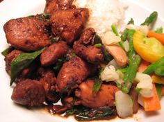 This is a traditional Taiwanese dish that we always order in our favorite Chinese restaurant. I begged the chef for this recipe and he very reluctantly gave it to me! I just made it for dinner tonight and couldnt wait to post this to share it with all of you!