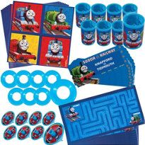 Thomas the Tank Engine Favor Pack 48pc by bellecaps on Etsy, $11.99