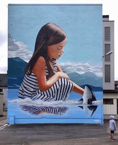 New Street Art by Smates found in Sandefjord Norway