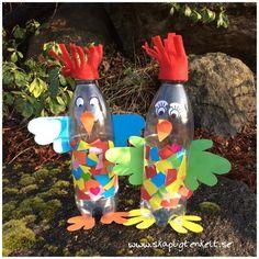 Skapligt Enkelt: Toktuppar crafts for boys Crafts For Seniors, Crafts For Boys, Craft Activities For Kids, Diy For Kids, Diy And Crafts, Arts And Crafts, Pig Crafts, Easter Crafts, Diy Plastic Bottle