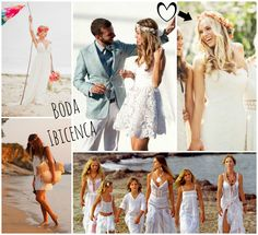 #Beach #Wedding and #FloralCrowns #floral #crown #flowers #ibiza