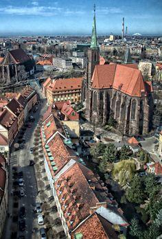 """przejście do całej galerii """"Wrocław z góry"""""""