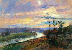 Albert Lebourg - Carriere, Saint-Denis (1899) Private Collection #art #painting #landscape #France #twitart #artwit