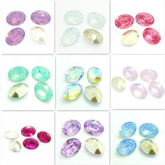 Wholesale 10PCS oval Resin Rhinestone beads 18X25mm diy hot