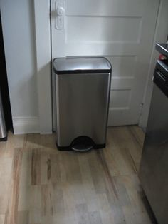 DIY Garbage Can Deodorizer  (This gets the smell out by letting it sit, then rinsing it out)