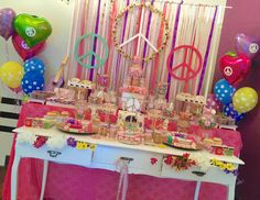 """Hippie Chic / Birthday """"GIVE PEACE A CHANCE"""" 