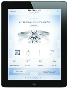 Use our ipad app #ForYouForever in store with our brand ambassadors to select, compare and filter your favourite designs