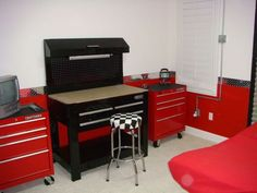 Craftsman rolling tool chests were purchased for dressers and a ...