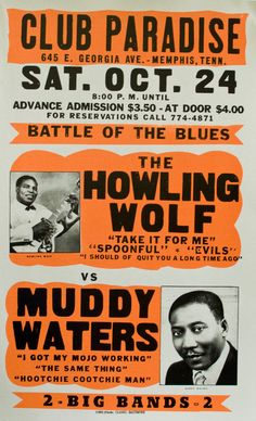 howling wolf-muddy waters
