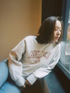 180409 f(Krystal) = Bellboy Magazine 'My Best Friend's Sweatshirts' Krystal Sulli, Krystal Fx, Jessica & Krystal, Jessica Jung, Etude House, South Korean Girls, Korean Girl Groups, Korean Women, Best Friend Sweatshirts