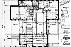 Ludwig Wittgenstein, casa a Vienna, 1926-1928, pianta