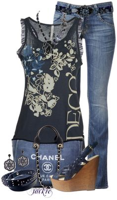 """The Blues"" by jackie22 ❤ liked on Polyvore"
