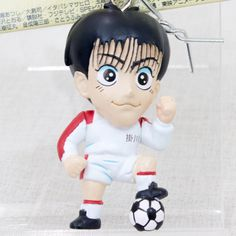 Shoot! Toshihiko Tanaka Shonen Magazine 90's Figure Key Chain JAPAN ANIME MANGA