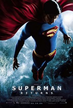 I love the Christopher Reeve Superman man movies. I watched Superman Returns not long after it came out and enjoyed it a lot too. I had forgotten just how lovingly everyone worked on this movie.  Bryan Singer is still the best person to do superhero movies.  He really understands them.   Brandon Routh did a wonderful job of portraying the Superman we love and still making it his own.  Kevin Spacey is a diabolical Lex Luthor.  And...whatever happened to Jason?  I loved that whole part.