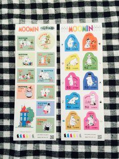 Moomin postal stamps of Japan