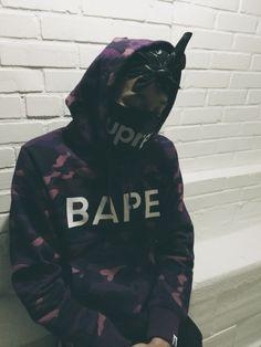 Bape/Supreme.