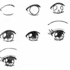 Basic anime eye