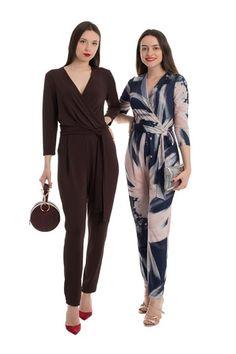 Descopera salopetele de toamna Loretta. 🍁🍂 Intra pe www.resense.ro pentru a vedea mai multe modele! Mai, Jumpsuit, Dresses, Design, Women, Fashion, Overalls, Vestidos, Moda