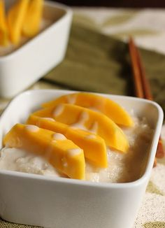 Mango Sticky Rice: Best desert ever.