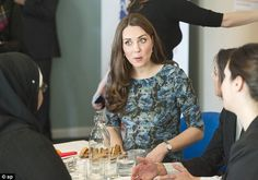 And this is what we did... The Duchess is animated mid story during a Family Friends coffee morning
