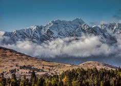 In The Clouds by Lee Bodson on New Zealand, Mount Everest, Clouds, Mountains, Nature, Travel, Naturaleza, Viajes, Trips
