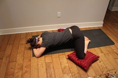 Yin Yoga for Cramps: 10 minutes and 3 poses to bring you ease and relief.