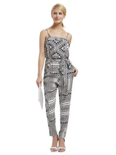 Featuring the Tribal Print Jumpsuit.